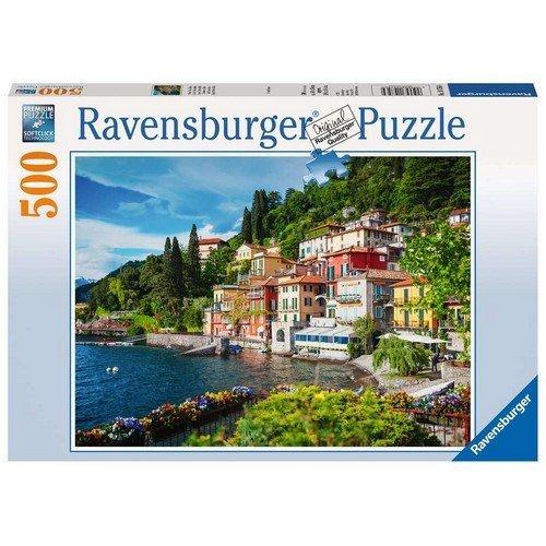 Puzzle 500: Lago di Como  (Lingua: Multilingua - Stato: Nuovo)