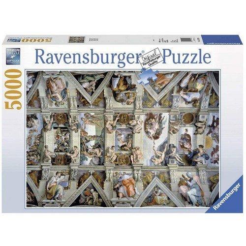 Puzzle 5000: Cappella Sistina  (Lingua: Multilingua - Stato: Nuovo)