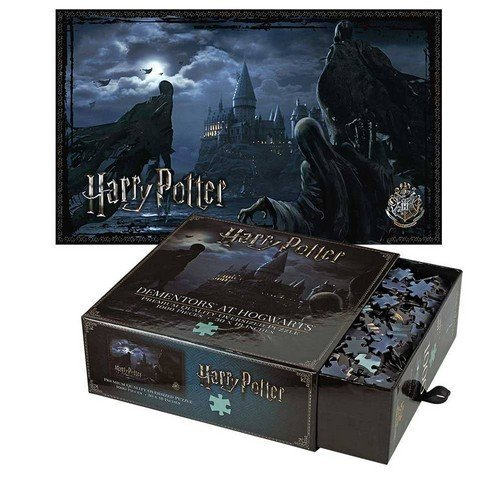 Puzzle 1000: Harry Potter Dementors at Hogwarts  (Stato: Nuovo)