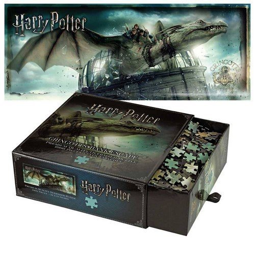 Puzzle 1000: Harry Potter Gringotts Bank Escape  (Stato: Nuovo)