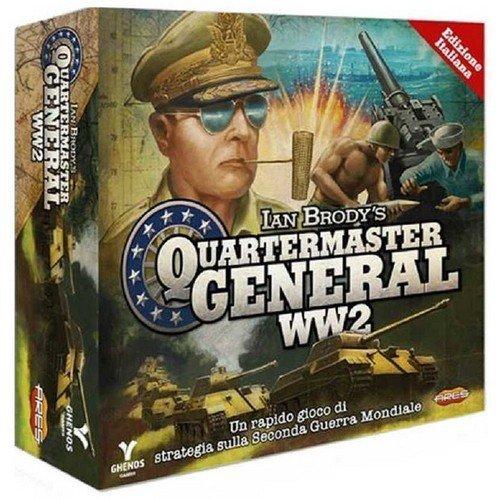 Quartermaster General WW2  (Lingua: Italiano - Stato: Nuovo)