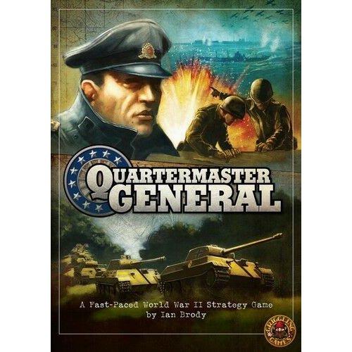 Quartermaster General  (Lingua: Inglese - Stato: Nuovo con Scatola Danneggiata)