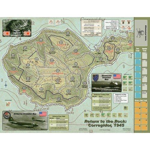 Return to the Rock: Corregidor, 1945  (Lingua: Inglese - Stato: Nuovo)
