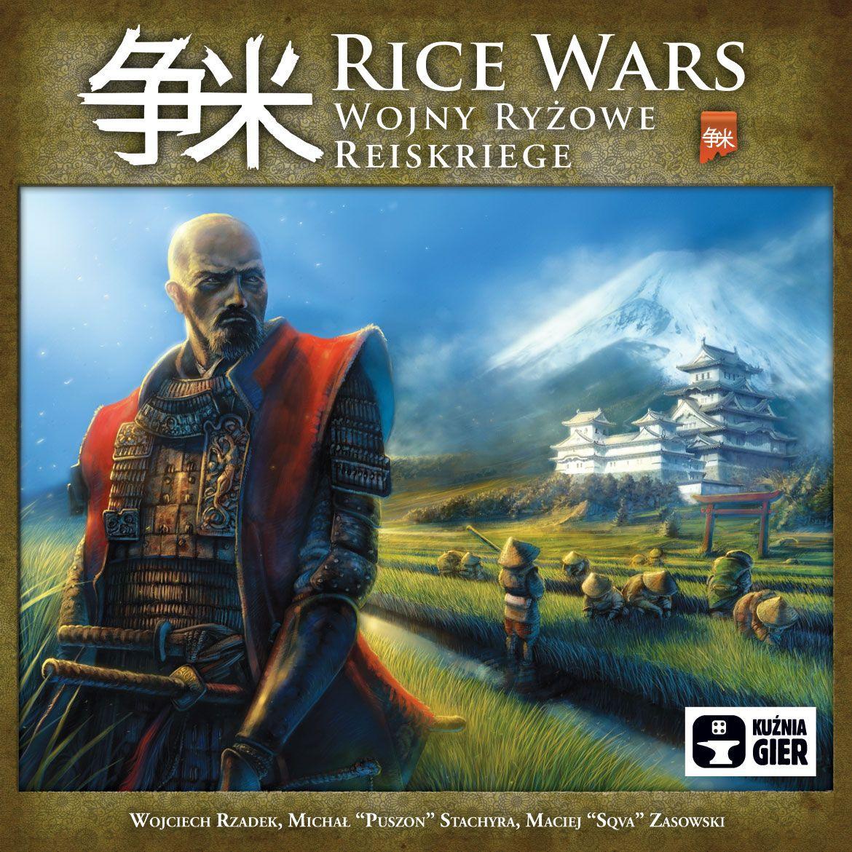 Rice Wars  (Lingua: Inglese, Tedesco, Polacco - Stato: Nuovo con Scatola Danneggiata)