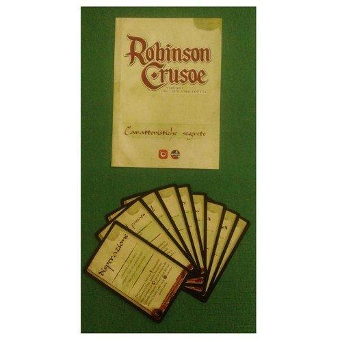Robinson Crusoe: Caratteristiche Segrete  (Lingua: Italiano - Stato: Nuovo)