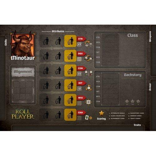 Roll Player: Minotaur Promo Punchboard  (Lingua: Inglese - Stato: Nuovo)