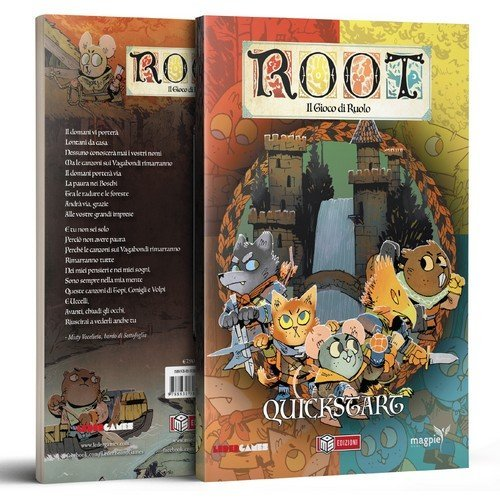 Root: The Tabletop Roleplaying Game Quickstart  (Language: Italian - Conditions: New)