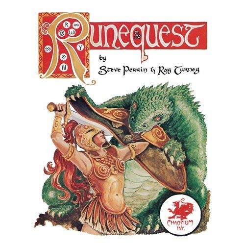 RuneQuest Classic Anniversary Edition 2016 Reprint Leatherette  (Language: English - Conditions: New)