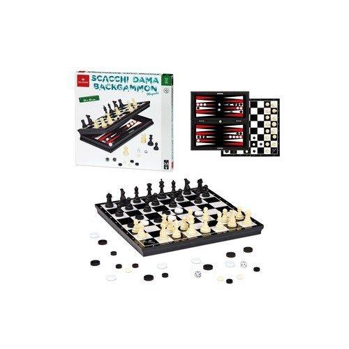 Scacchi Dama Backgammon Magnetic  (Lingua: Multilingua - Stato: Nuovo)