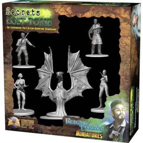 Secrets of the Lost Tomb: Reign of Terror Miniatures  (Lingua: Inglese - Stato: Nuovo)