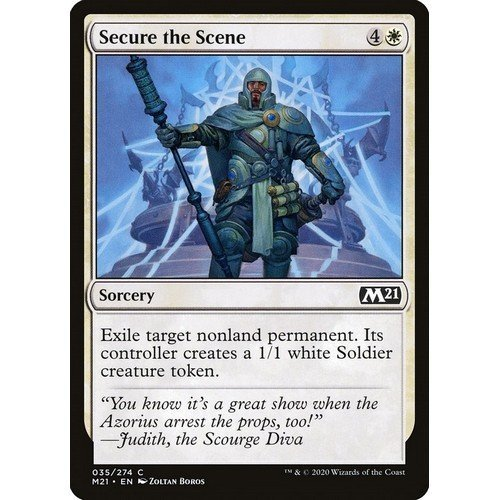 Secure the Scene  (Language: English - Conditions: Near Mint)