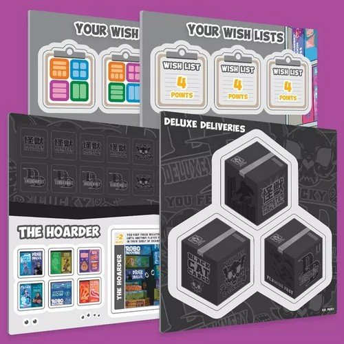 Shelfie Stacker + Deluxe Deliveries Expansion KS  (Language: English - Conditions: New)