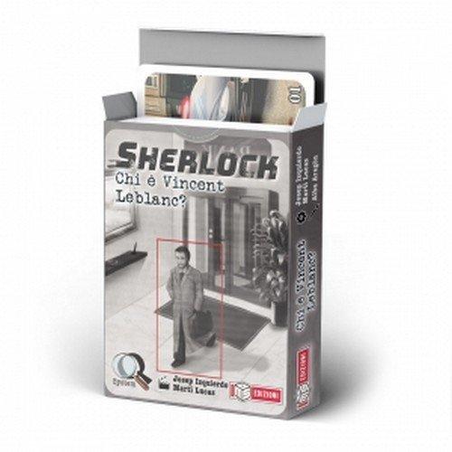 Sherlock: Chi è Vincent Leblanc?  (Lingua: Italiano - Stato: Nuovo)