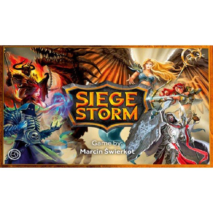 Siege Storm  (Lingua: Inglese - Stato: Nuovo)