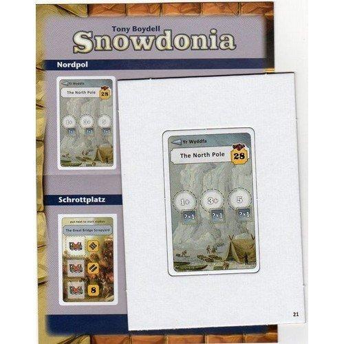 Snowdonia: Tessera Promo The North Pole & The Great Bridge Scrapyard  (Lingua: Inglese, Tedesco - Stato: Nuovo)