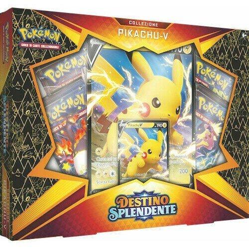 Spada e Scudo 4.5 Destino Splendente Collezione Pikachu-V  (Lingua: Italiano - Stato: Nuovo)