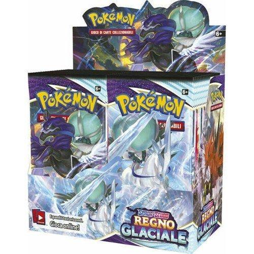Spada e Scudo Regno Glaciale Box 36 Buste  (Lingua: Italiano - Stato: Nuovo)