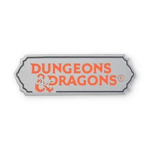 Spilla in Metallo Dungeons & Dragons Logo  (Stato: Nuovo)