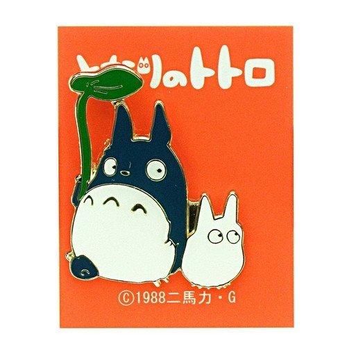 Spilla in Metallo Il Mio Vicino Totoro, Grande e Medio  (Stato: Nuovo)
