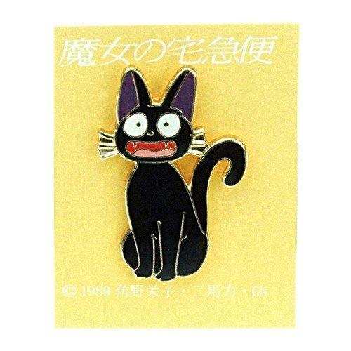 Spilla in Metallo Kiki's Delivery Service Jiji Sorriso  (Stato: Nuovo)