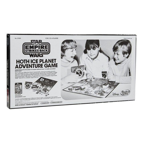 Star Wars Episode V Board Game with Action Figure Hoth Ice Planet Adventure Game *English Version*  (Lingua: Inglese - Stato: Nuovo)