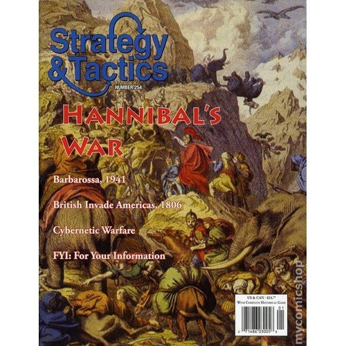 Strategy & Tactics #254: Hannibal's War  (Lingua: Inglese - Stato: Nuovo)
