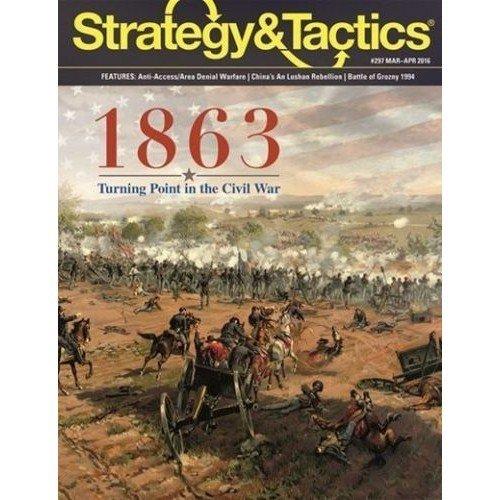 Strategy & Tactics #297: 1863  (Lingua: Inglese - Stato: Nuovo)
