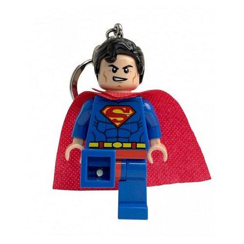 Superman Lego Portachiavi Led Light 8cm  (Stato: Nuovo)
