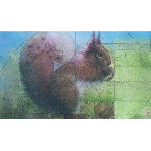 Tappetino Scoiattolo di Fibonacci  (Stato: Nuovo)