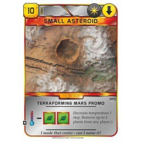 Terraforming Mars: Carta Promo Small Asteroid  (Lingua: Inglese - Stato: Nuovo)