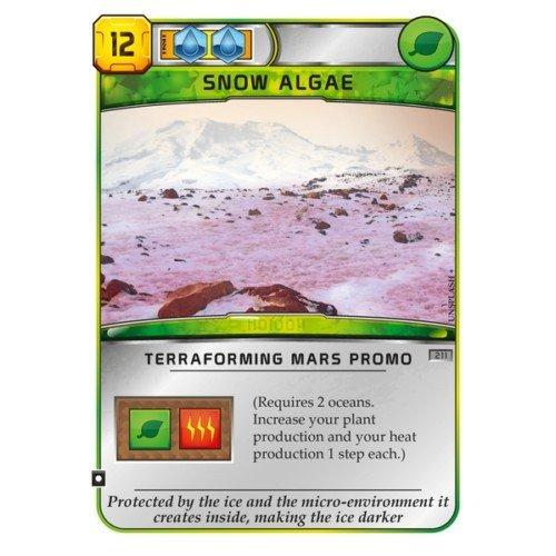 Terraforming Mars: Carta Promo Snow Algae  (Lingua: Inglese - Stato: Nuovo)