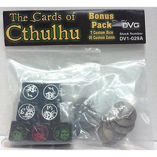 The Cards of Cthulhu: Bonus Pack  (Stato: Nuovo)