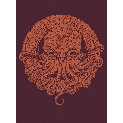 The Cthulhu Alphabet (Bronze Foil Cover)  (Lingua: Inglese - Stato: Nuovo)