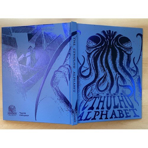The Cthulhu Alphabet (Cerulean Foil Cover)  (Lingua: Inglese - Stato: Nuovo)