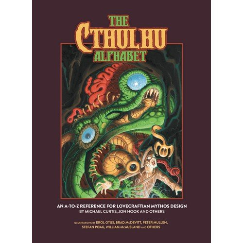 The Cthulhu Alphabet (Standard Color Cover)  (Lingua: Inglese - Stato: Nuovo)