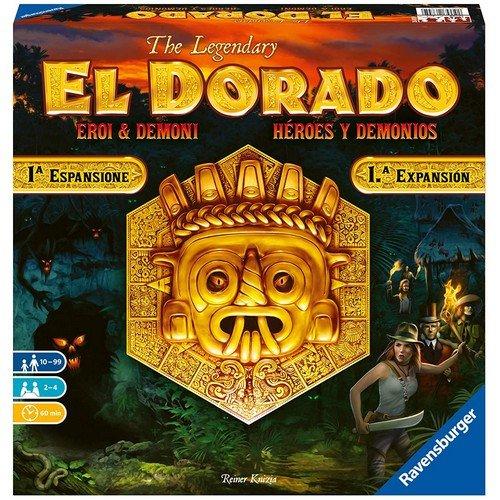 The Legendary El Dorado: Eroi & Demoni  (Lingua: Italiano, Spagnolo - Stato: Nuovo)