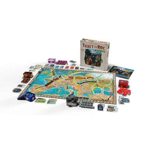 Ticket to Ride Europa 15° Anniversario  (Lingua: Italiano - Stato: Nuovo)