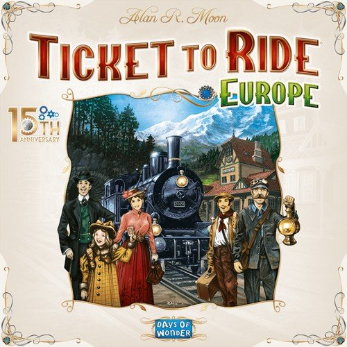 Ticket to Ride Europe 15th Anniversary  (Language: Italian - Conditions: New)