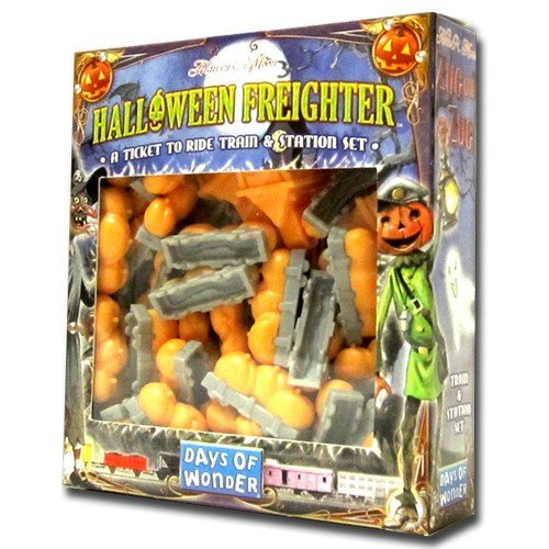 Ticket to Ride: Halloween Freighter  (Lingua: Inglese - Stato: Nuovo)