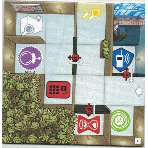 Twinples 4x Personaggi per Magic Maze + Tessera Promo F  (Stato: Nuovo)