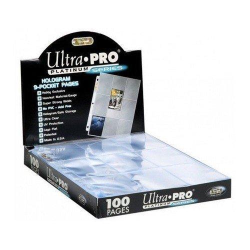 UP - Pagine a 9 Tasche Platinum (100)  (Stato: Nuovo)