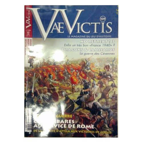 Vae Victis n. 109: Magazine SENZA Wargame  (Lingua: Francese - Stato: Usato Ottime Condizioni)