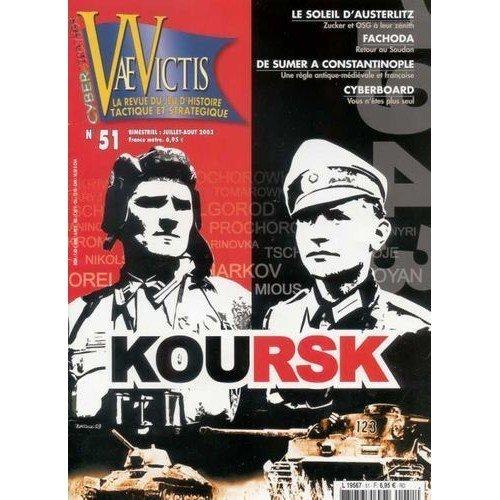 Vae Victis n. 51: En Pointe Toujours III: Koursk 1943  (Lingua: Francese - Stato: Usato Ottime Condizioni)