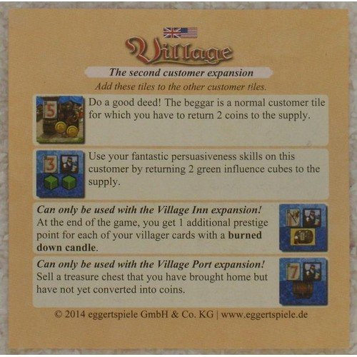 Village: Customer Expansion II  (Lingua: Inglese, Tedesco - Stato: Nuovo)