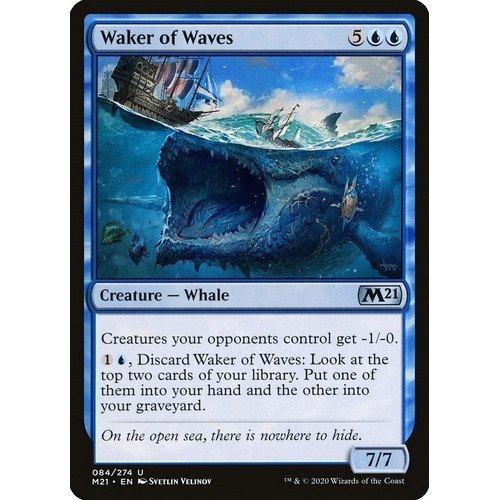 Waker of Waves  (Language: English - Conditions: Near Mint)