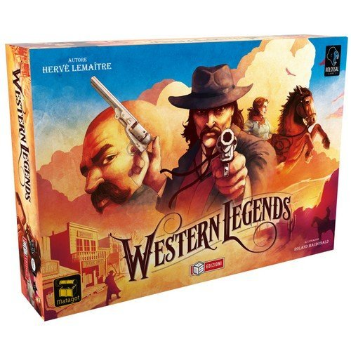 Western Legends  (Language: Italian - Conditions: New)