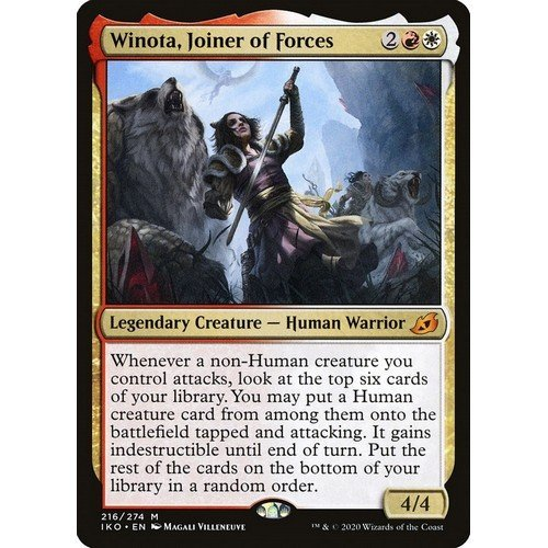 Winota, Radunatrice di Forze  (Lingua: Inglese - Stato: Near Mint)