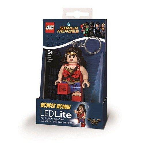 Wonder Woman Lego Portachiavi Led Light 6cm  (Stato: Nuovo)