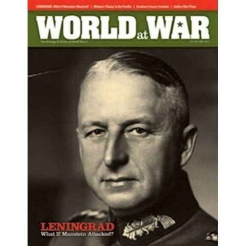 World at War #17: Leningrad '41 What if Manstein Attacked?  (Lingua: Inglese - Stato: Nuovo)