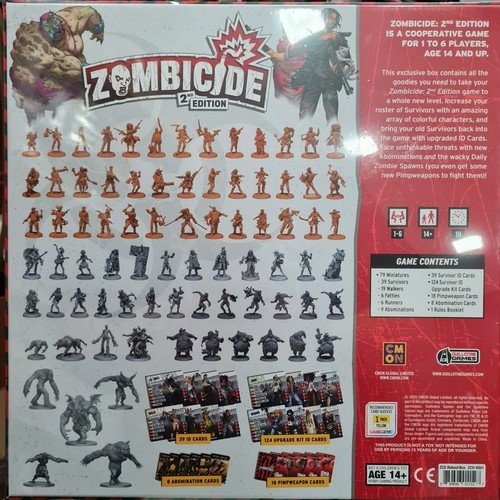 Zombicide 2nd Edition, Reboot Box  (Language: English - Conditions: New)
